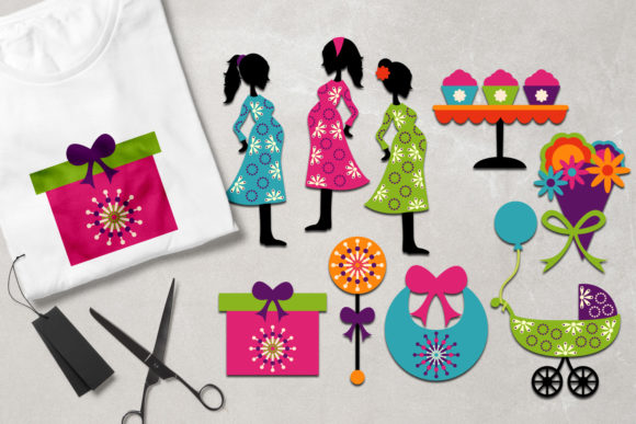 Print on Demand: Baby Shower Graphic Illustrations By Revidevi