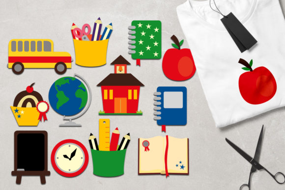 Print on Demand: Back to School Graphic Illustrations By Revidevi