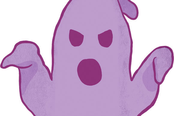 Download Free Bad Booing Purple Ghost Png Transparent Graphic By Milaski for Cricut Explore, Silhouette and other cutting machines.