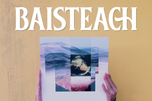 Print on Demand: Baisteach Display Font By Fontdation