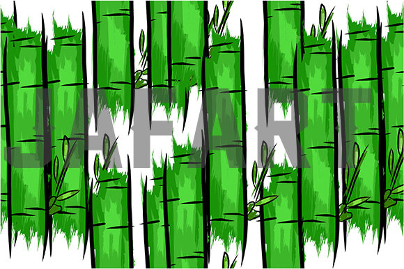 Bamboo Seamles Pattern Graphic Patterns By ahmaddesign99 - Image 2