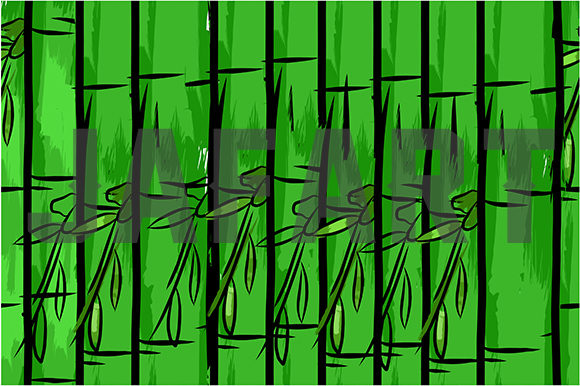 Bamboo Seamles Pattern Graphic Patterns By ahmaddesign99 - Image 5