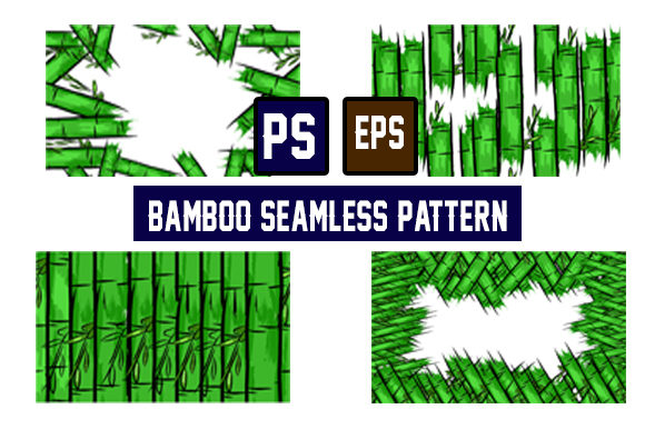 Bamboo Seamles Pattern Graphic Patterns By ahmaddesign99