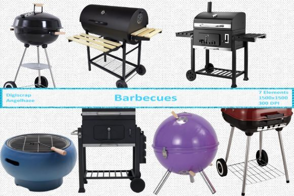 Barbecues CU Graphic By Digiscrap Angelhaze