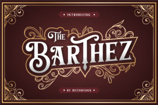 Barthez Font By RezaDesign