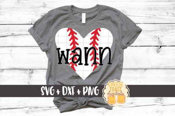 Download Free Baseball Heart Graphic By Cheesetoastdigitals Creative Fabrica for Cricut Explore, Silhouette and other cutting machines.