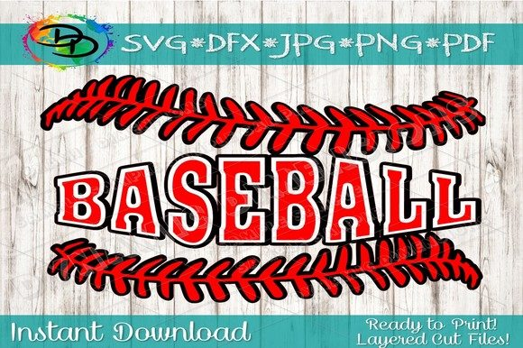Download Free Baseball Laces Svg Softball Threads Graphic By Dynamicdimensions SVG Cut Files