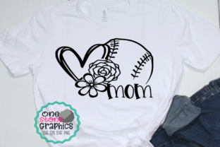 Download Free Baseball Mom Baseball Graphic By Onestonegraphics Creative for Cricut Explore, Silhouette and other cutting machines.