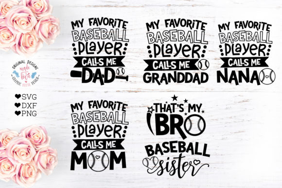 Print on Demand: Baseball Quotes Graphic Illustrations By GraphicHouseDesign