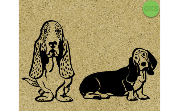 Download Free Basset Hound Vector Graphic By Crafteroks Creative Fabrica SVG Cut Files