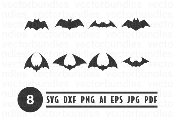 Download Free Bat Animal Clip Art Svg Graphic By Vectorbundles Creative Fabrica for Cricut Explore, Silhouette and other cutting machines.
