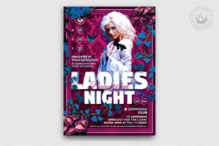 Beautiful Ladies Night Flyer Template Graphic By ThatsDesignStore