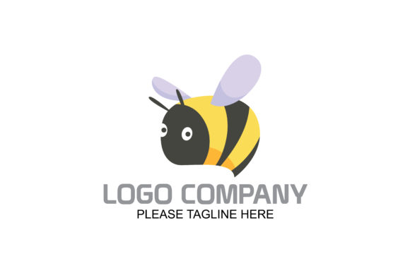 Bee Logo Graphic By Friendesigns