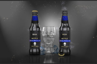 Beer Bottle – PSD Mockup Graphic By PakpahanMarg