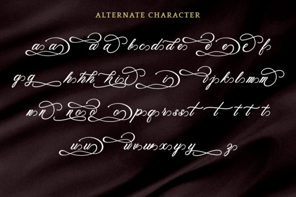 Print on Demand: Beethoven Syinthesa Script & Handwritten Font By Kotak Kuning Studio - Image 5