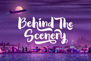 Print on Demand: Behind the Scenery Script & Handwritten Font By Situjuh 1