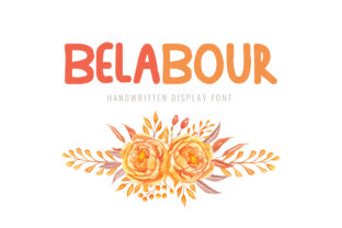 Belabour Font By Shattered Notion