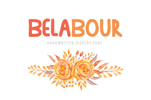 Print on Demand: Belabour Display Font By Shattered Notion - Image 1