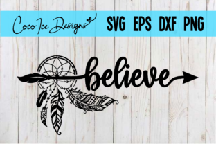 Download Free Believe Bohemian Mystic Quote Svg Cut Graphic By Cocoicedesigns for Cricut Explore, Silhouette and other cutting machines.