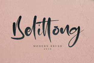Belittong Font By missinklab