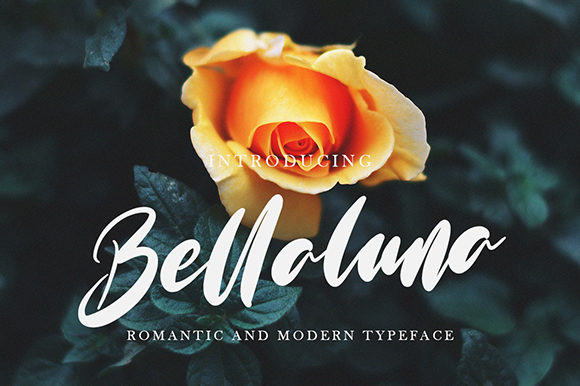 Print on Demand: Bellaluna Script & Handwritten Font By missinklab