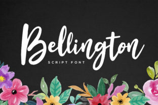 Bellington Font By RezaDesign