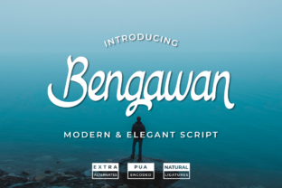 Print on Demand: Bengawan Script & Handwritten Font By Panrita Studio