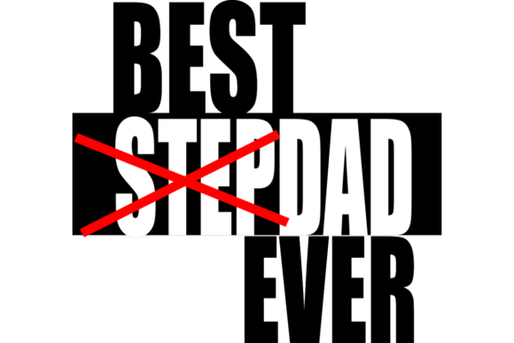 Print on Demand: Best Stepdad Ever Fathers Day SVG Graphic Crafts By CargoPrints
