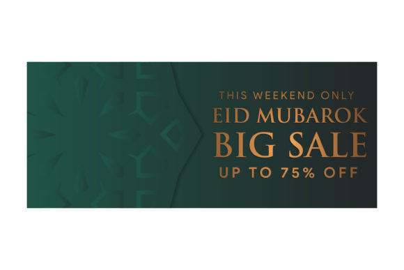 Download Free Big Sale Pattern Gradient Dark Green Graphic By Noory Shopper for Cricut Explore, Silhouette and other cutting machines.