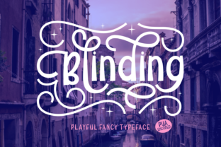 Blinding Font By Rifki (7ntypes)