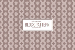 Download Free Block Pattern Brown Color Graphic By Noory Shopper Creative for Cricut Explore, Silhouette and other cutting machines.