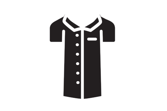 Download Free Blouse Icon Graphic By Hellopixelzstudio Creative Fabrica for Cricut Explore, Silhouette and other cutting machines.