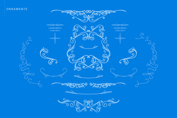 Print on Demand: Blue Angel Blackletter Font By creativemedialab - Image 4
