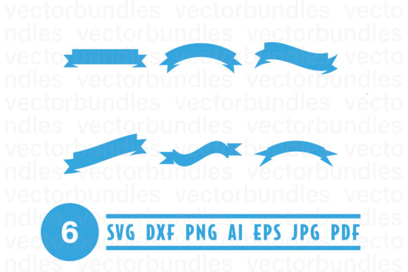 Download Free Blue Ribbon Clip Art Svg Graphic By Vectorbundles Creative Fabrica for Cricut Explore, Silhouette and other cutting machines.