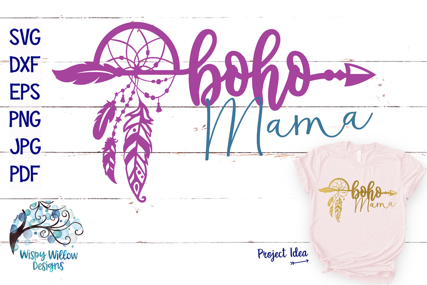 Download Free Boho Mama Dreamcatcher Svg Cut File Graphic By SVG Cut Files