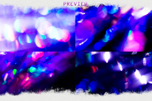 Bokeh Photo Overlays Christmas, Wedding