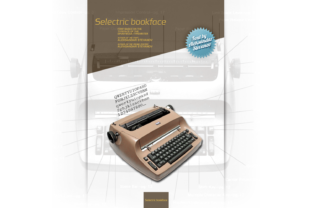 Selectric Bookface Font By astevanov