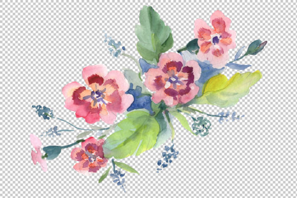 Bouquet Hello Summer Watercolor Png Graphic By MyStocks Image 3