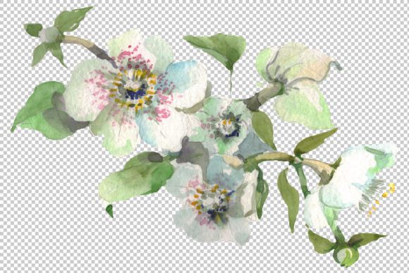 Bouquet Hello Summer Watercolor Png Graphic By MyStocks Image 4