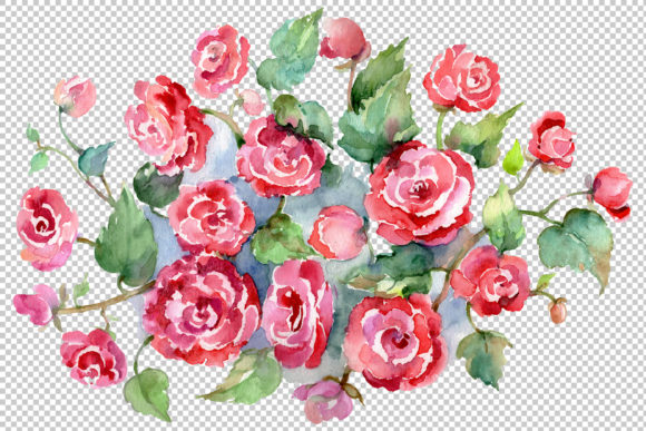 Download Free Bouquet Of Roses Pinks Metamorphosis Wat Graphic By Mystocks for Cricut Explore, Silhouette and other cutting machines.