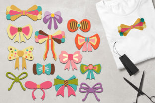 Bow Ribbons Graphic By Revidevi