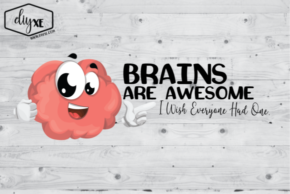 Brains Are Awesome Graphic Illustrations By Sheryl Holst