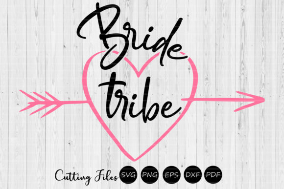Download Free Bride Tribe Wedding Svg Bridesmaids Graphic By Hd Art for Cricut Explore, Silhouette and other cutting machines.