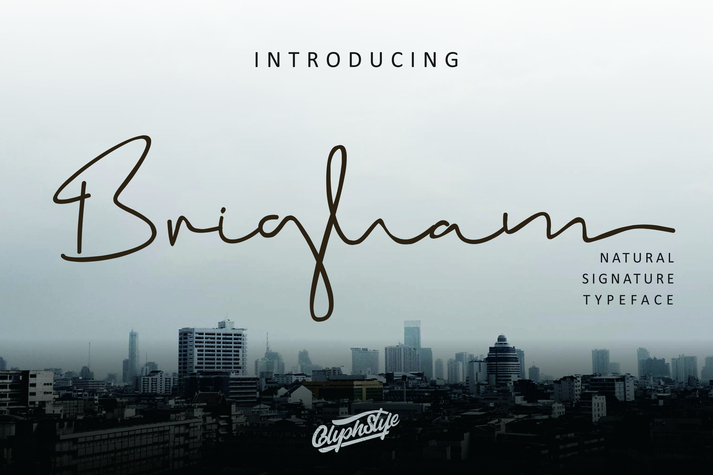 Download Free Brigham Script Font By Glyphstyle Creative Fabrica for Cricut Explore, Silhouette and other cutting machines.