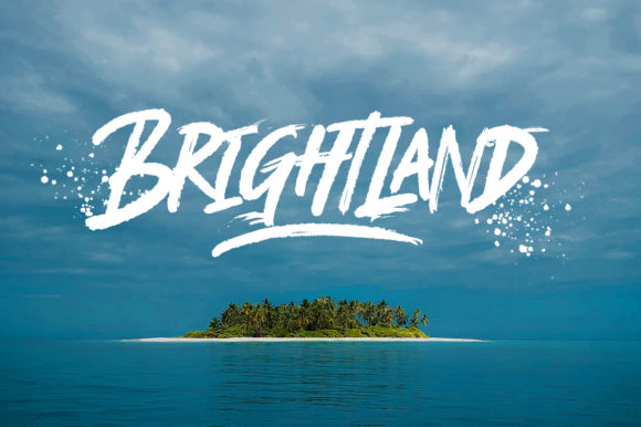 Print on Demand: Brightland Display Font By Weape Design - Image 13