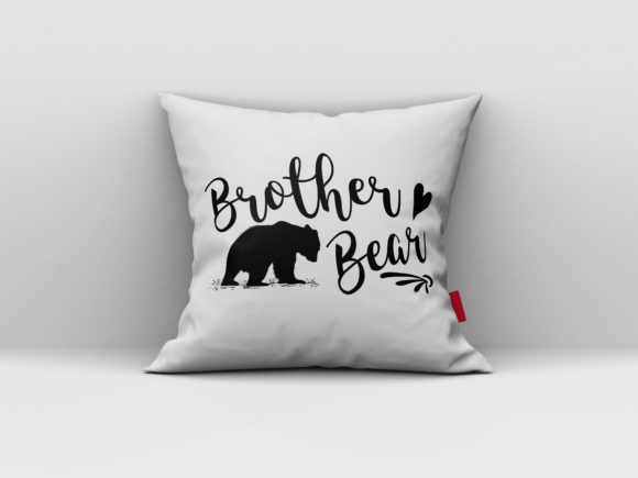 Download Free Brother Bear Design Graphic By Aartstudioexpo Creative Fabrica for Cricut Explore, Silhouette and other cutting machines.