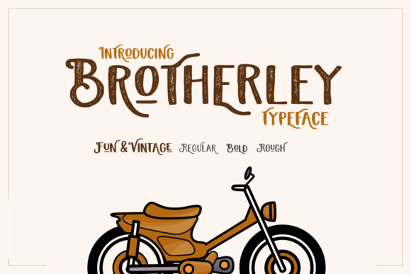 Print on Demand: Brotherley Display Font By creativemedialab
