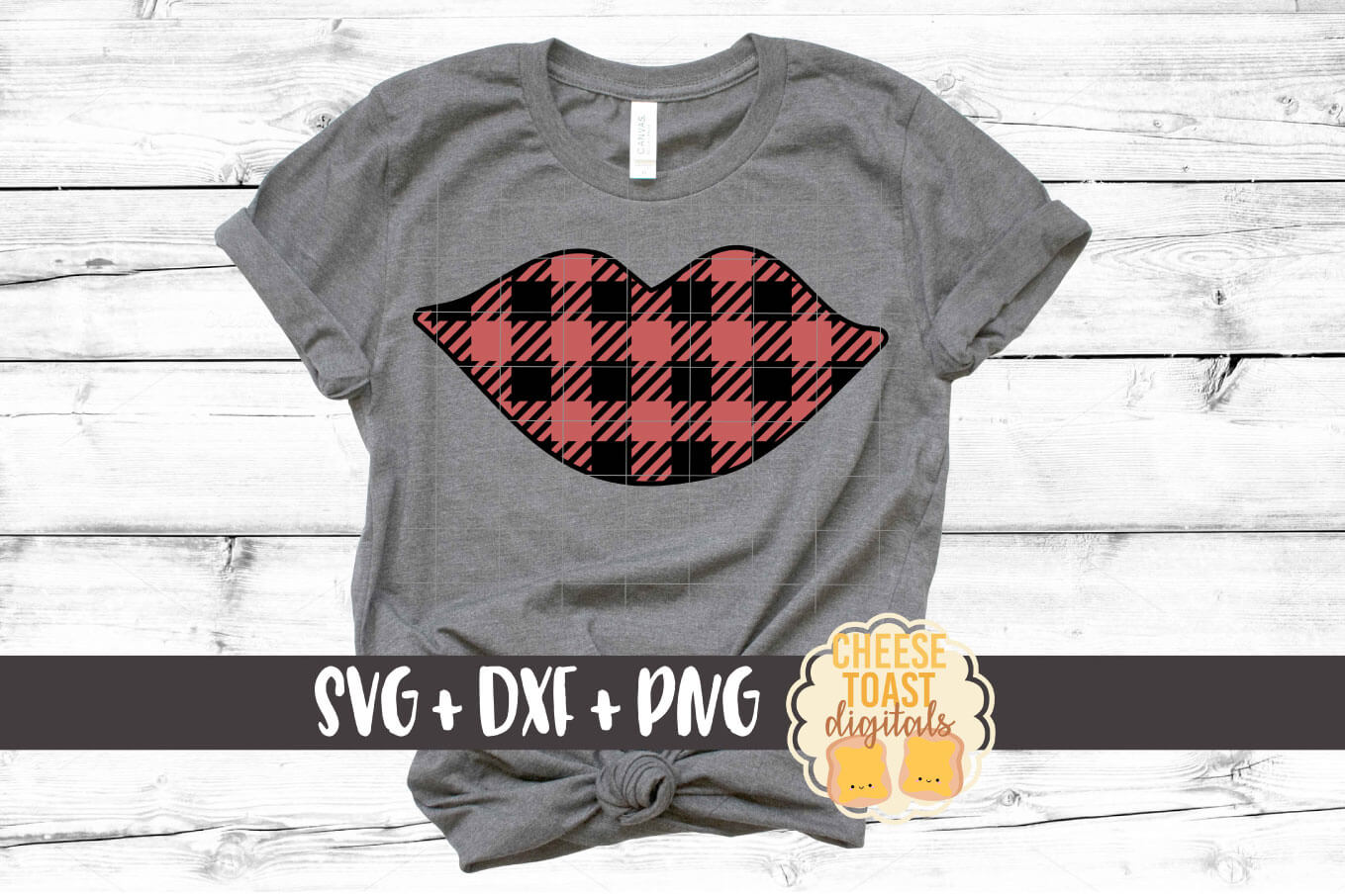 Download Free Buffalo Plaid Lips Graphic By Cheesetoastdigitals Creative Fabrica for Cricut Explore, Silhouette and other cutting machines.