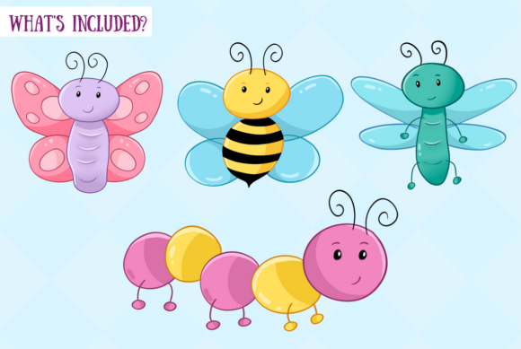 Download Free Bugs And Creepy Crawlers Graphic By Keepinitkawaiidesign for Cricut Explore, Silhouette and other cutting machines.