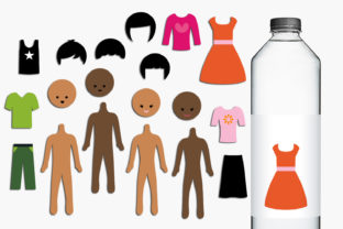Build Your Paper Dolls Graphic By Revidevi